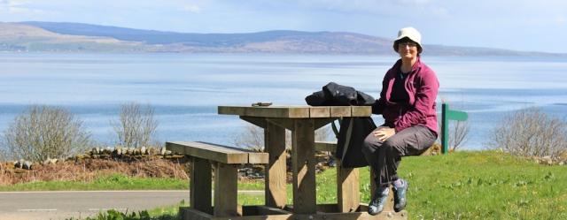 24 Ballochgair picnic spot, Ruth's coastal walk, Kintyre, Scotland