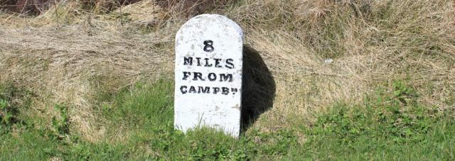 24 milestone, Ruth's coastal hike, Kintyre