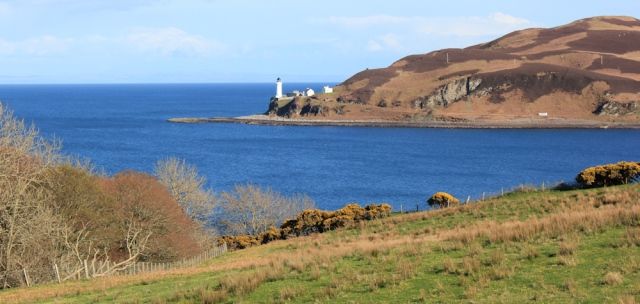 37 lighthouse on Davaar Island, Ruth's coastal walk, Kintyre, Scotland