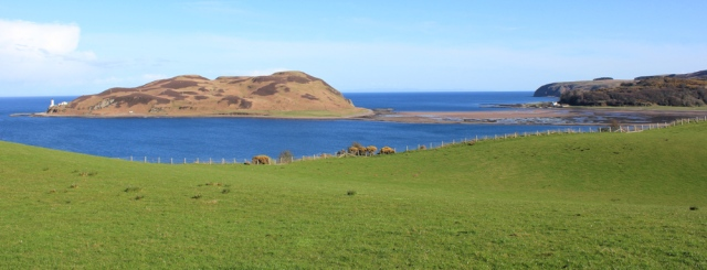 38 causeway to Davaar Island, Ruth's coastal walk, Campbeltown, Kintyre