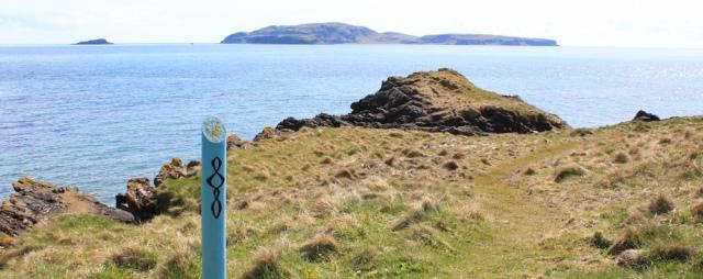 46 Sanda Island, Ruth's coatal walk, Mull of Kintyre