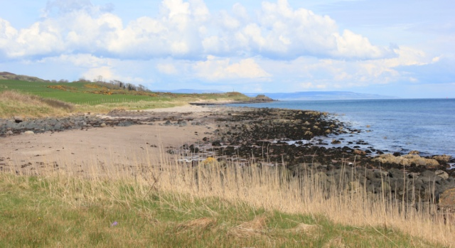 48 empty beach, Mull of Kintyre, Ruth's coastal walk, Scotland