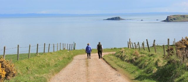 53 Sanda Island and Ayreshire Coast, Ruth's coastal walk on Mull of Kintyre