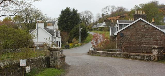 01 Clachan village, Ruth's coastal walk around Kintyre, Scotland