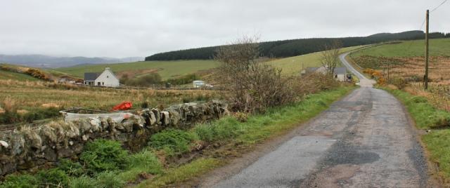 02 country roads, Clachan, Ruth's coastal walk around Kintyre, Scotland