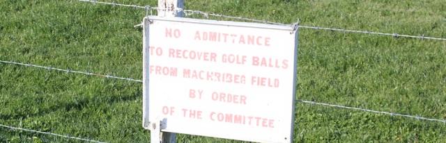 02 no golfers allowed here, Ruth's coastal walk, Mull of Kintyre