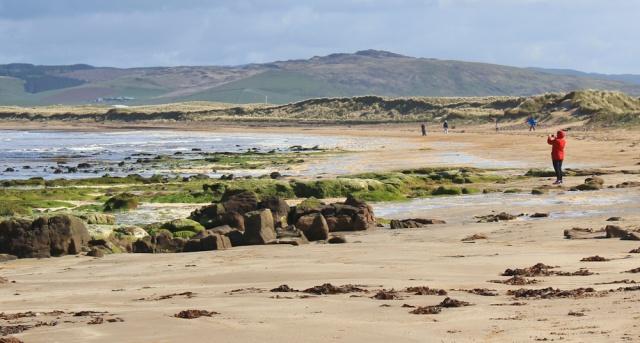 03 people walking Machrihanish beach, Ruth Livingstone