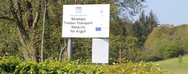 03 timber transport network, Ruth's coastal walk, Argyll, Scotland