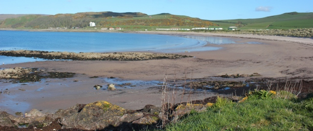 04 Dunaverty Bay and beach, Ruth's coastal walk, Mull of Kintyre