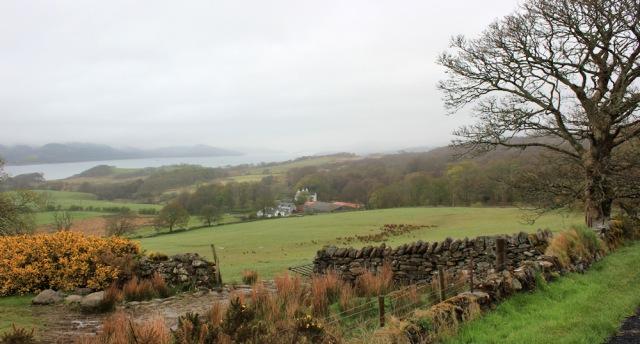 07 approaching Whitehouse, Ruth's coastal walk around Kintyre, Scotland