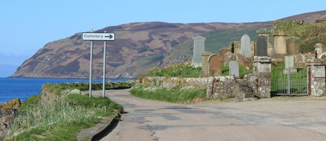 07 cemetery, Ruth's coastal walk, Mull of Kintyre