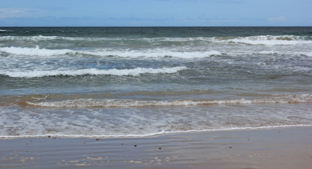 08 waves, Machrihanish Bay, Ruth's coastal walk, Kintyre, Scotland