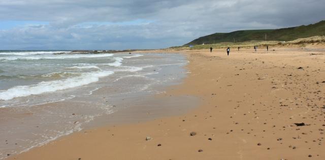 09 north end, Machrihanish Bay, Ruth's coastal walk