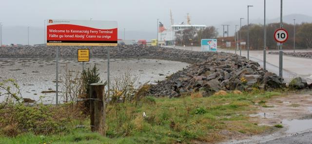 10 Kennacraig Ferry Terminal, Ruth's coastal walk around Kintyre, Scotland