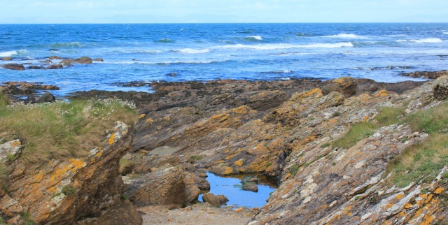 11 picnic spot, Ruth Livingstone hiking the coast of Scotland