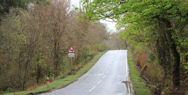 12 winding road to Tarbert, Ruth's coastal walk around Kintyre, Scotland