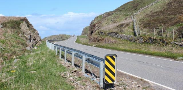 13 A83, Ruth Livingstone hiking the west coast of Kintyre