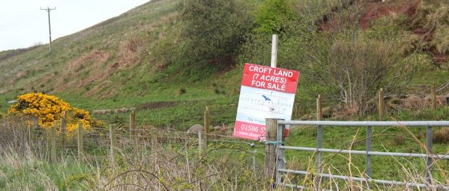 15 land for sale, Ruth's coastal walk, Kintyre, Scotland