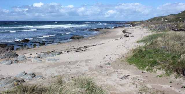18 patches of beach, Ruth's coastal walk, Kintyre