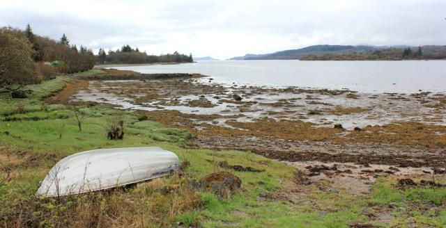 18 view up West Loch, Tarbert, Ruth's coastal walk around Kintyre, Scotland
