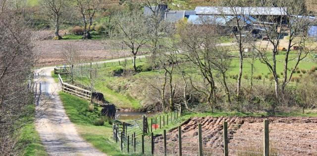 19 Amod farm, Ruth's coastal walk, Mull of Kintyre