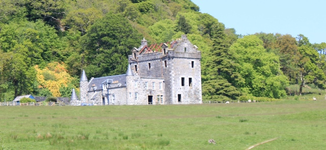 20 Dunmore House, Ruth hiking to Kilberry, Scotland
