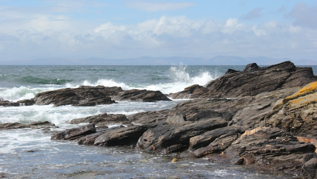 20 views of Islay, Ruth hiking the west Kintyre coastline