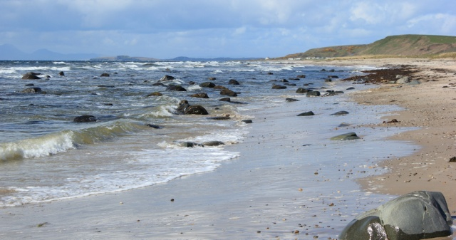 23 beach walking, Bellachantuy Bay, Ruth's coastal walk, Kintyre