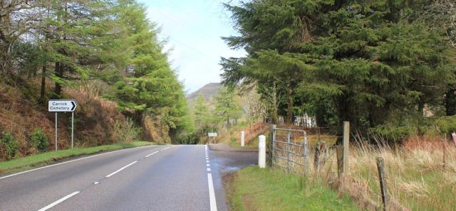 24 Carrick Cemetery, Ruth's coastal walk around Kintyre, Scotland, Tarbert