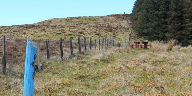 26 picnic bench, Ruth's coastal walk, Mull of Kintyre
