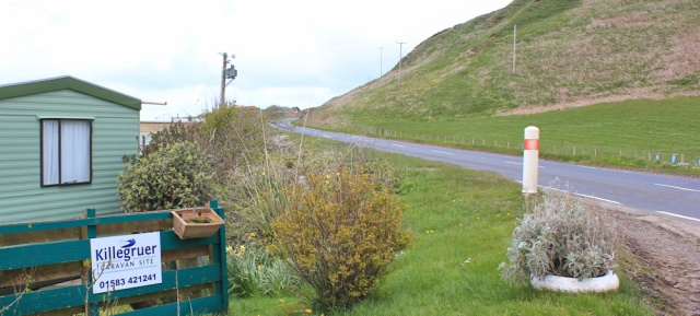 27 back on the A83, Ruth's coastal walk, Kintyre