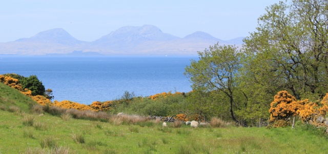 30 views over Jura from Kiberry road, Ruth Livingstone