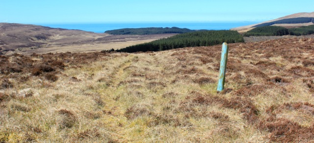 31 top of the hill, Ruth's coastal walk, Mull of Kintyre