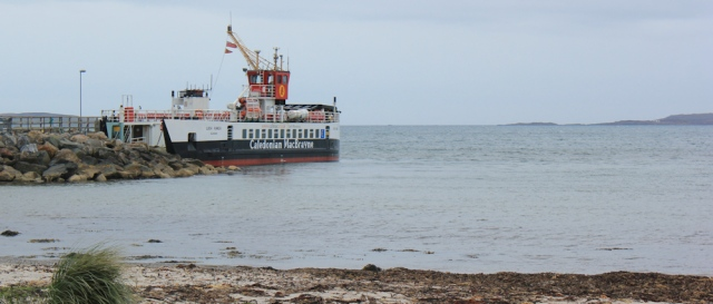 32 Gigha ferry embarking, Ruth Livingstone, Kintyre, Scotland