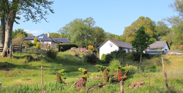 33 attractive houses, Ruth's coastal walk, Argyll, Scotland