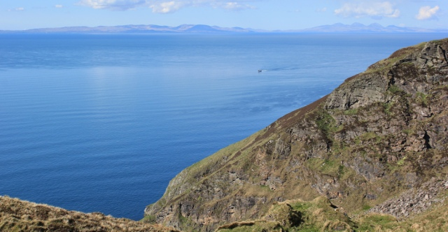 42 view over Islay and Jura, Ruth's coastal walk, Mull of Kintyre