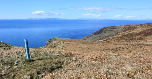 44 empty landscape, Ruth's coastal walk, Mull of Kintyre