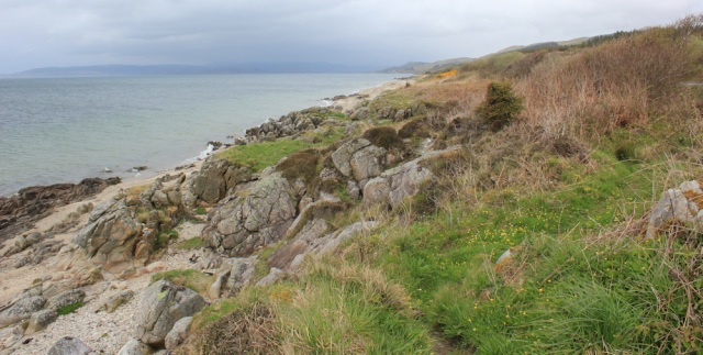 45 Ruth Livingstone hiking the Kintyre Way to Clachan