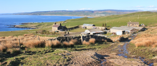 56 Ballygroggan Farm, Ruth's coastal walk, Mull of Kintyre