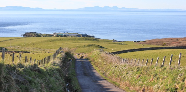 58 High Lossit and Paps of Jura, Ruth's coastal walk, Mull of Kintyre