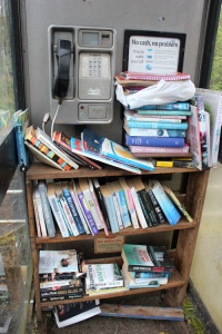 60 book exchange, Clachan, Ruth's coastal walk, Kintyre