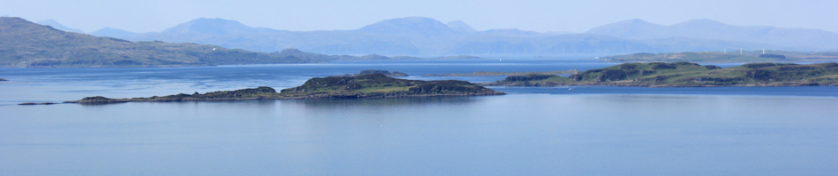 Ruth's coastal walk around Scotland, view from Ardnoe Point