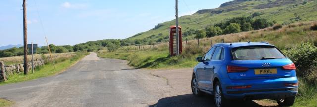 01 Castle Sween cross roads, Ruth's coastal walk, Knapdale, Scotland