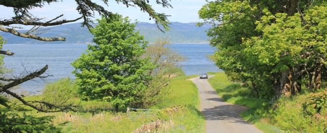 02 road to Ormsary, Ruth's coastal walk, Argyll, Scotland