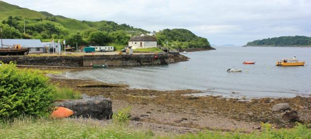 03 dive centre, Ruth walking the coast of Scotland