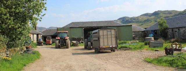 04 Lochead farm, Ruth's coastal walk, Argyll, Scotland