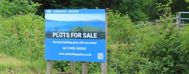 04 plots for sale, Ruth hiking the coast of Scotland