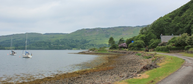05 Loch Melfort, Ruth's coastal walk around Scotland