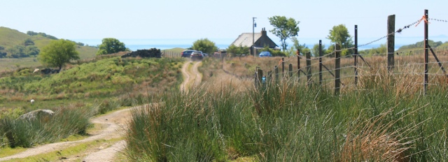07 car park at end of track, Ruth's coastal walk, Argyll, Scotland