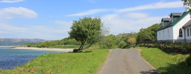 07 cottages, Ormsary, Ruth's coastal walk, Argyll, Scotland